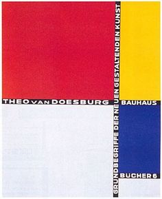 fa9f610dc Karen Longs posted Theo van Doesburg   Laszlo Moholy-Nagy 1925 (De Stijl  aka The Style) book cover to their -design concepts ideas- postboard via  the ...