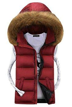 APTRO Men's Cotton-padded Faux Fur Hoodie Warm Vest Waistcoat Red UK L( Tag 3XL ) APTRO http://www.amazon.co.uk/dp/B015F1T784/ref=cm_sw_r_pi_dp_UR7xwb1Y2S9FV
