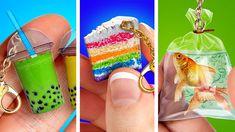 5 Min Crafts, 5 Minute Crafts Videos, Diy Crafts Hacks, Craft Videos, Crafts To Make, Crochet Small Flower, Glue Gun Crafts, Cool Paper Crafts, Creative Activities For Kids