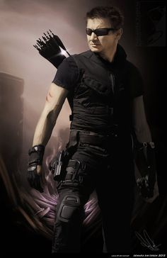 Jeremy Renner as Hawkeye - Avengers costume idea for the bae The Avengers, Hawkeye Avengers, Loki Thor, Loki Laufeyson, Marvel Avengers Comics, Avengers Movies, Marvel Dc, Marvel Memes, Jeremy Renner