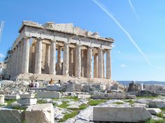 The Parthenon from the northwest