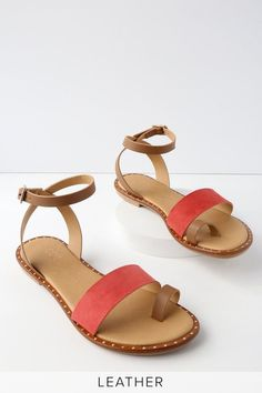 7aabc1c794dcb Everyday feels like a vacation when you re wearing the Coconuts Sundown Tan Leather  Flat