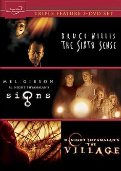 the sixth sense signs the village triple feature set april fools day dvd movies drama
