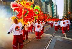 San Fran Dragon - The 10 Most Colourful Chinese New Year 2014 Celebrations Around the World