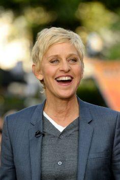 Ellen DeGeneres- I absolutely love her!