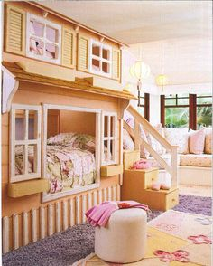 This inspires me because I have a 3 yr old sis who would love this and as well as myself