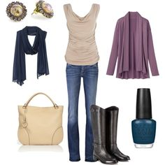 Draping, created by mabodeely.polyvore.com. Love the boots.