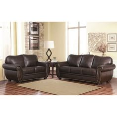 Leather Sofa Loveseat