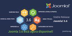 O Joomla 3.6 está agora disponível! Precisa de Alojamento Web para o seu site Joomla?
