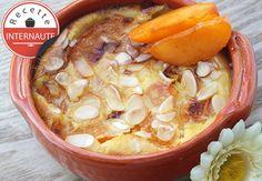 Le clafoutis aux abricots-romarin et amande de Maelle