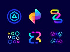 Logo concept for fitness app ( for sale ) designed by Vadim Carazan. Connect with them on Dribbble; the global community for designers and creative professionals. Web Design, Icon Design, Hub Logo, Training Apps, Art Actuel, Poster Design, Parking Design, Logo Concept, Logo Color