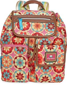 bd8a78b5e07 LILY BLOOM Lily Bloom Riley Backpack - love the extra pockets on the front