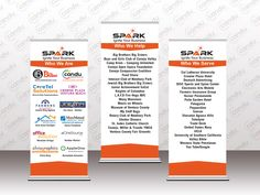 Advertising Roll Up Banner perfect for your next trade show. Order yours  at candugraphics.com