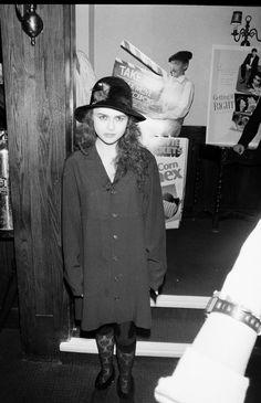 Helena Bonham Carter, she was exactly the same as a kid