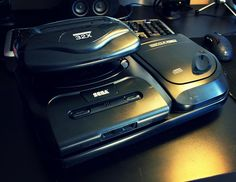 Fully loaded megadrive!!!  #retrogaming #sega #consoles
