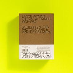 "calmack: "" Lance Wyman: The Visual Diaries 1973–1982 uniteditions.com """