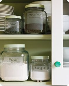 DIY Frosted Glass.