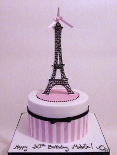 Michelle's Eiffel Tower Cake