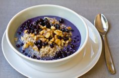 wild blueberry chai oatmeal