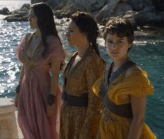 Game of Thrones Season 5 Fashion - The Sand Snakes