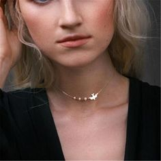 Chokers Bird Necklace Gold Bird Necklace Layer necklace Gold choker for woman Animal necklace Pendant Necklace Dainty jewelry Pearl choker – Dainty Jewelry necklace Pearl Chocker Necklace, Cheap Choker Necklace, Layered Choker Necklace, Layered Chokers, Bird Necklace, Short Necklace, Silver Chain Necklace, Necklace Types, Silver Necklaces