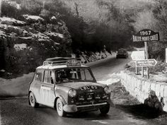Mini, 1967 Monte Carlo Rally