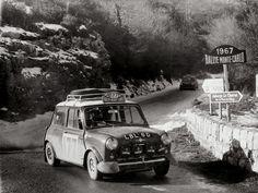 Mini, 1967 Monte Carlo Rally