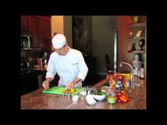 Chef Christopher Fread shows you hot to make a Mini Sweet Pepper Tower #Salad  #CookingDemo #Vegetables