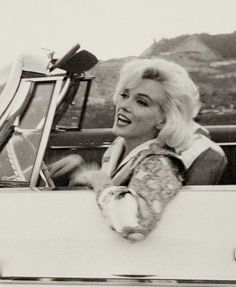 Marilyn Driving, by George Barris, c.1962