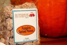 Pumpkin Spiced Pecans - 4 OZ Bag