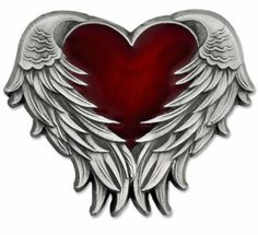 online shopping for PinMart Antique Nickel Heart Angel Wings Enamel Lapel Pin from top store. See new offer for PinMart Antique Nickel Heart Angel Wings Enamel Lapel Pin Tribal Tattoos, Tattoos Skull, Feather Tattoos, Body Art Tattoos, Sleeve Tattoos, Small Tattoos, Arm Tattoos, Flower Tattoos, Tattoo Forearm