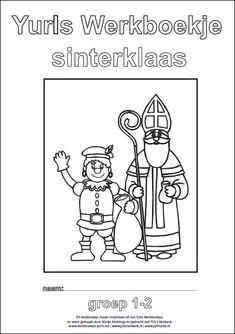Yurls werkboekje Sinterklaas Free Prints, Pre School, Crafts For Kids, Teaching, Winter, Crafts For Toddlers, Kids Arts And Crafts, Learning, Education