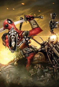 DeadPool. I know. I pin way too much Deadpool but I can't help it.