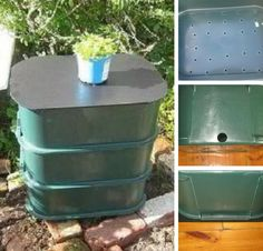 3-Tier Worm Compost Bin | DIY Compost Bins To Make For Your Homestead