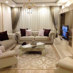 The Argument About Best Apartment Living Room Layout and Decorating Tricks - homeuntold Drawing Room Furniture, Living Room Furniture, Living Room Decor, Fancy Living Rooms, Elegant Living Room, Home Room Design, Living Room Designs, Minimalist Living, Sofa Design
