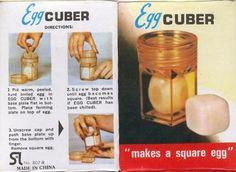 Makes a square egg