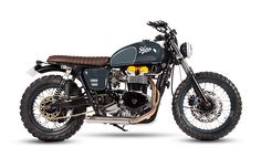 Triumph Bonneville by Maria Riding Company