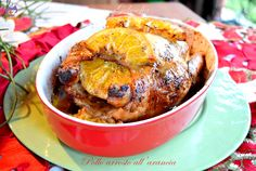 Pollo arrosto all'arancia, ricetta semplice buonissima