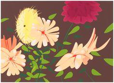 Alex Katz - Late Summer Flowers | 1stdibs.com