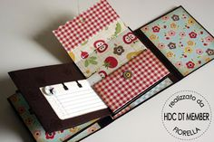 """Hobby di Carta - Il blog: ISPIRAZIONI: """"Minialbum"""" di Alice Carman by Fiorella"""