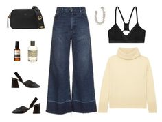 """""""Untitled #7770"""" by amberelb ❤ liked on Polyvore featuring Rachel Comey, ADAM, Ana Khouri, CÉLINE, Commando, Fendi, Aesop and Le Labo"""