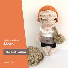 Mara, One Piece Doll Pattern by Manuska