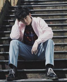 Japanese Boy, Family Movies, Boy Fashion, Bomber Jacket, Normcore, Hipster, Boys, Collection, Swag