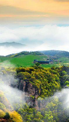 Yunding grassland, Guizhou, China