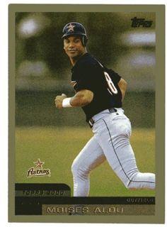 moises alou baseball card   ... ASTRO'S - Moises Alou #290 TOPPS 2000 MLB Baseball Trading Card