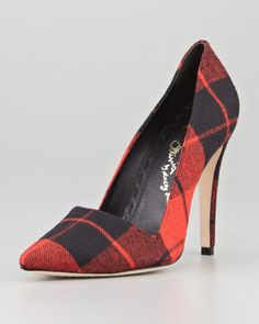 2ae8bc0c3 Alice + Olivia Dina Plaid Point-Toe Pump Creative Shoes, Only Shoes, Pointed