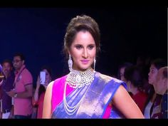 WATCH Hot Indian Tennis Star Sania Mirza's stunning ramp walk at IIJW 2015. See the full video at : https://youtu.be/Pv2f_-Et38E #saniamirza