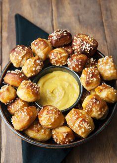 pretzel bites recipe | use real butter