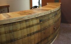 #Bar made from Wine #Barrels