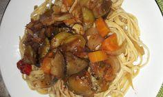 Μακαρόνια με σάλτσα λαχανικών (2 μονάδες) – Diaitamonadwn.gr